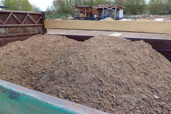 Доставка песчано-гравийной смеси (ПГС)